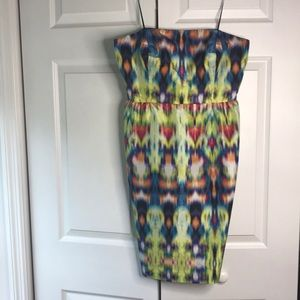 J Crew Collection strapless dress